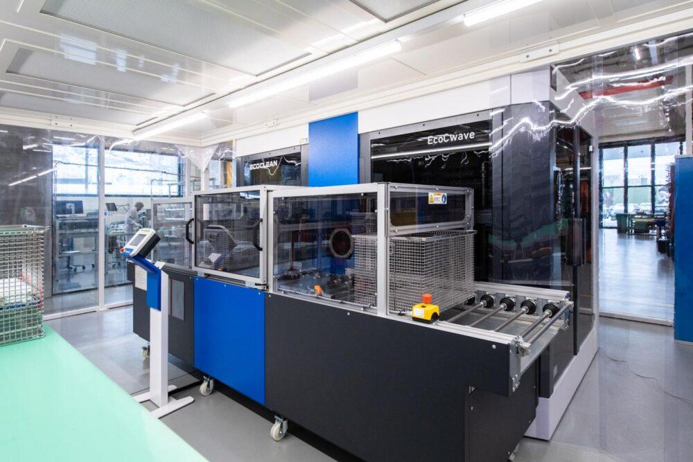 Teilereinigung - Högg AG Produktionstechnik